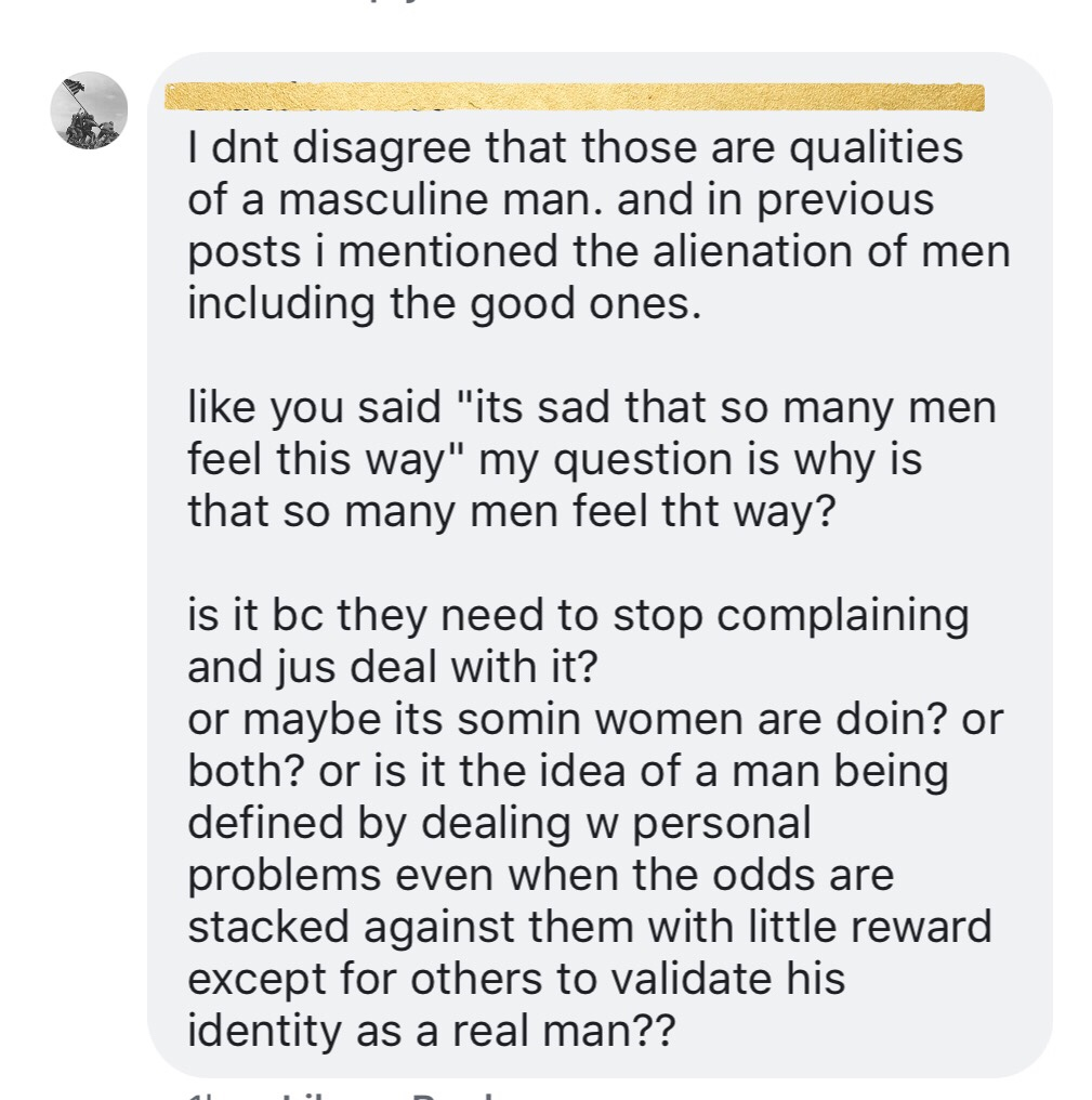 "Response to a MGTOW: ""Real Man"" – The Millennial Rag"